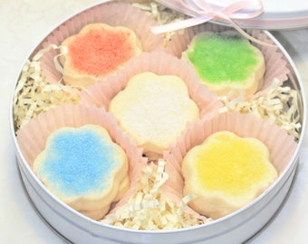 Gourmet Shortbread Cookies, tin cookies