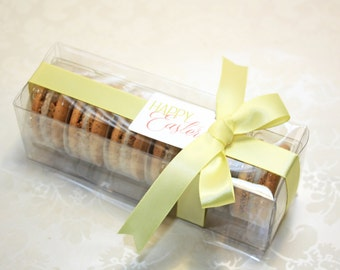 French Macaron Box, Special occasion cookie - 6 pcs.