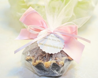 Shower Favor, Mini Pie Favor  - 24 Mini Pie