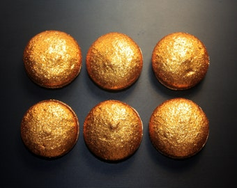 Golden French Macaron - 1 dozen