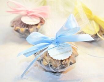 Shower Favors, Mini Fruit Pie Favor  - 24 Mini Pie favors - Bridal or Baby Shower Favors