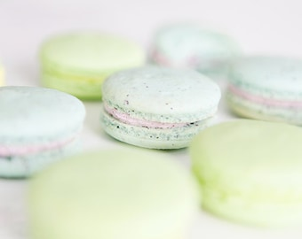 French Macaron, Organic - 4 dozens