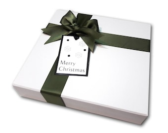 Elegant Holiday Gift Boxes with Mini Pies, Corporate Gifts, Holiday Edible Gifts - Mini Pies