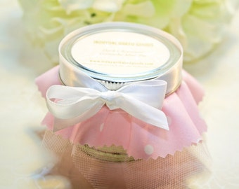 Shower Favors, Pie in the jar Favor - 24 Pie in the jar favors - Bridal or Baby Shower Favors