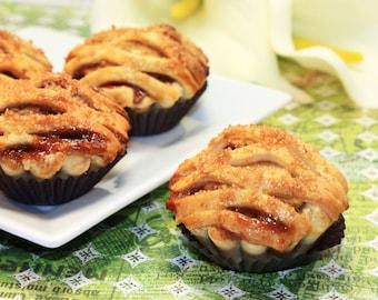 "Organic Apple Pie - 1 dz. of 3"" Mini Pies"