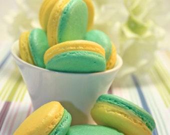 French Macaron, Organic - 6 dozens