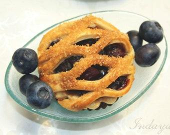 """Organic Blueberry Pie - 1 dz of 3"""" Mini Pie"""