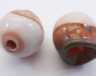 Handmade Glass Earring Componants