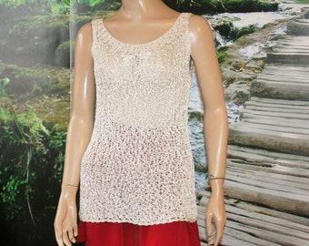 Ivory Crochet Top, Crochet Blouse, Summer Top, Knitted Top, Lace Blouse, Lace Crochet Top, Blouse,Ivory Blouse, top, crochet fashion