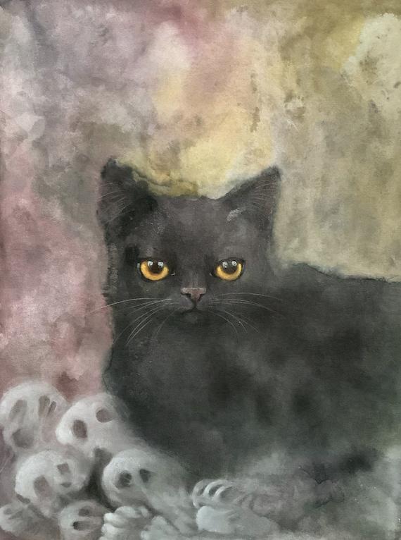 Sweet Killer, original painting, Eva Fialka