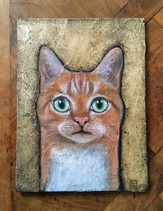 MISKA original painting by EvaFialka