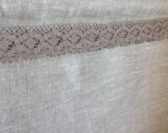 Cafe curtain / linen cafe curtain / Privacy curtain / flax linen curtain