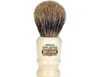 Original Simpson 'Special' Badger Bristle Shaving Brush