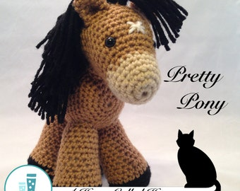 Pretty Pony - Crochet Animal (Amigurumi)