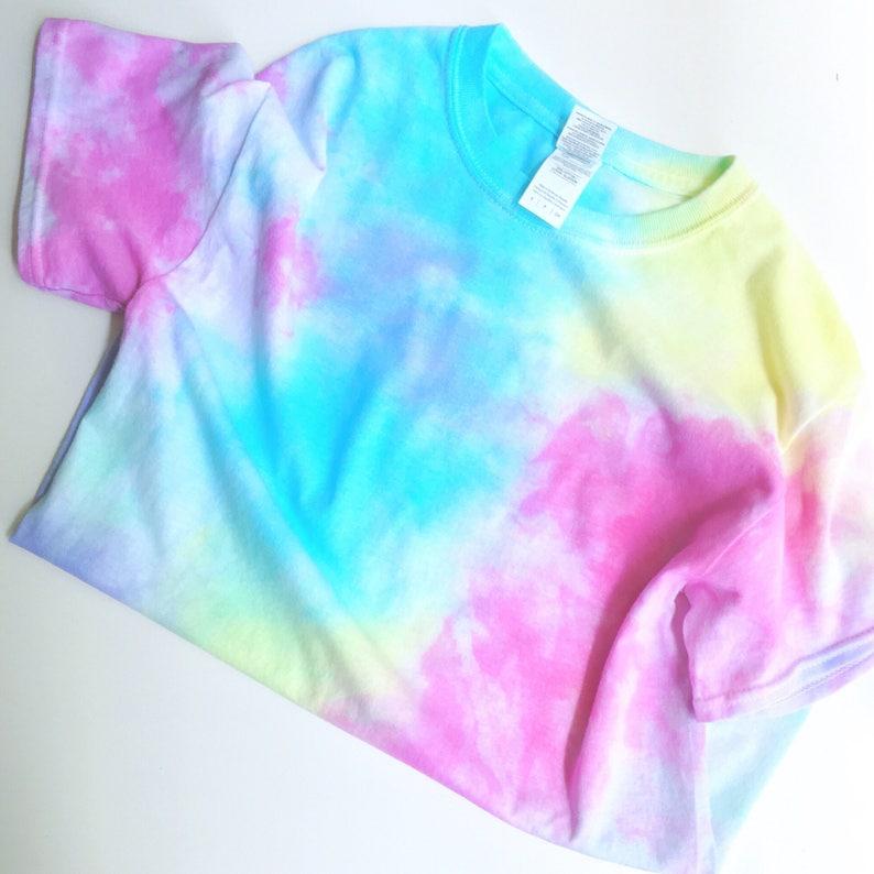 171781ec60b72 Pastel Splash Tie Dye T Shirt TieDye TShirt - Grunge - Indie - Boho