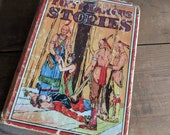 Fifty Famous Stories ,Lowe, Jacobson, Published by Whitman Publishing Co. 1920 Coffee Table Book Native American