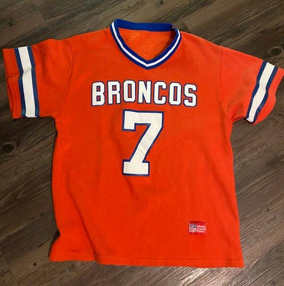 1980s Denver Broncos Sweatshirt Jersey John Elway