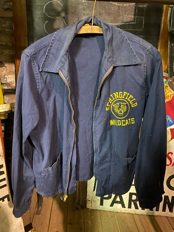 VTG 50s Springfield OH High School Champion Jacket