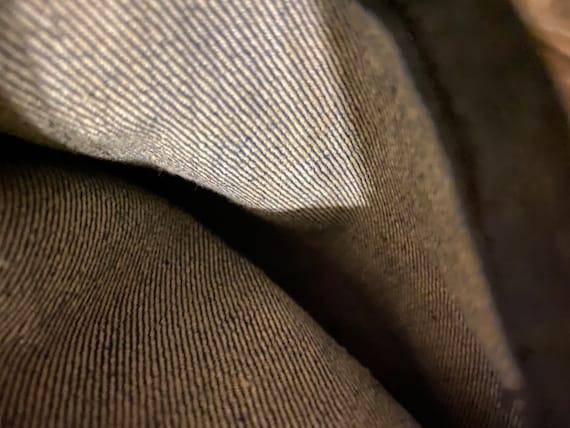 Vintage indigo Denim Jean Bag Workwear 1940s Lee … - image 3
