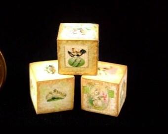 Miniature Easter Cubes
