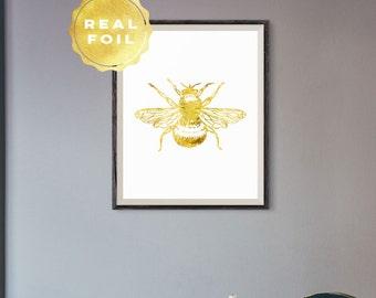 Bee art   Etsy