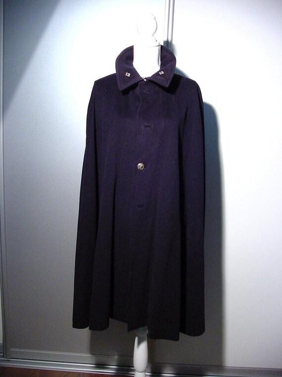 vintage uniform cape