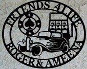 Garage sign - Personalized Garage Metal Sign - Custom Garage sign