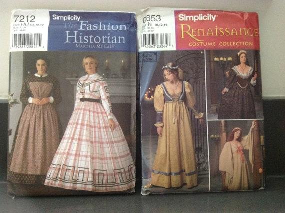 Schnittmuster Renaissance Kleid   Etsy