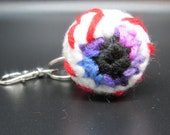 Eyeball Plush, Halloween Keyring,  Soft Squishy Stress Toy, Horror Toy, Gothic Accessory