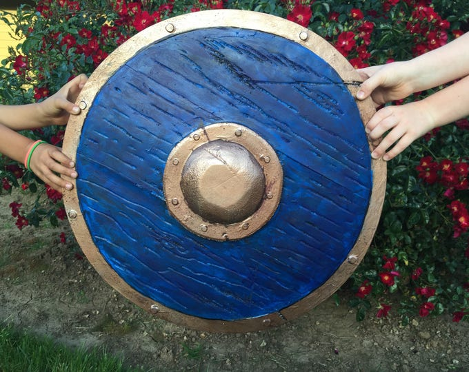 "Shield, 21"" // Youth Size // Amtgard small round // Belegarth and Dagorhir"