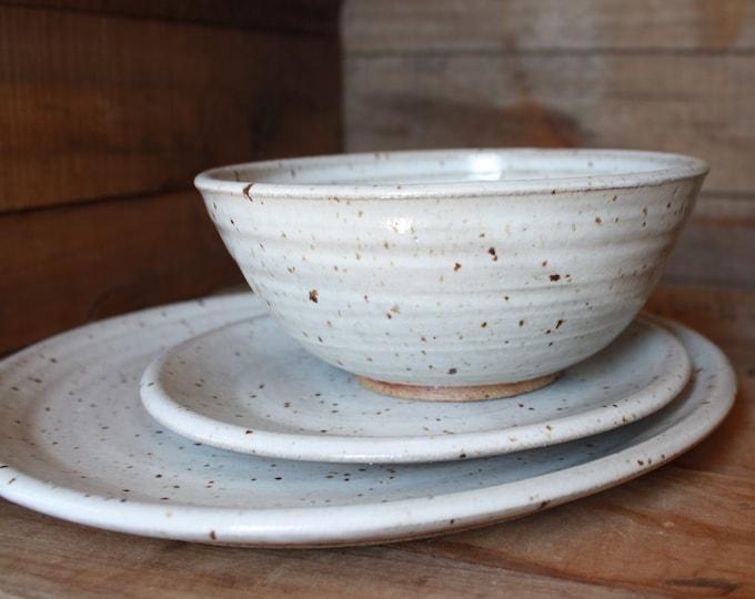 Wedding Registry - Sam & Will - Dinnerware Set - KJ Pottery