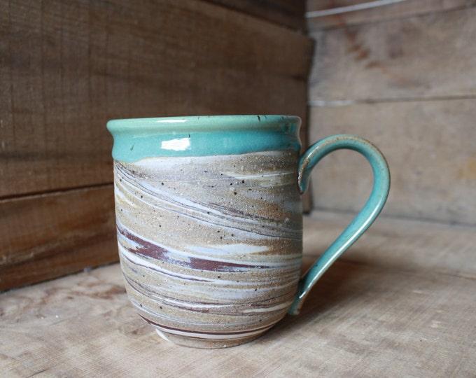 Custom mugs for Carrie - KJ Pottery