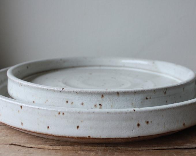 Damon & Jena - Wedding Registry - Dinner Plate - Salad Plate - KJ Pottery