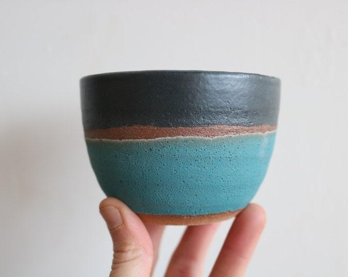 Tea Bowl - Tumbler - Handmade Mug - Ceramics & Pottery - KJ Pottery