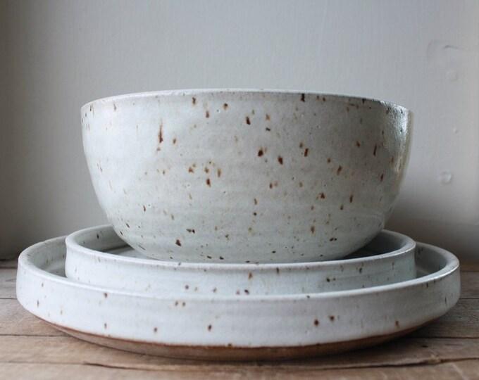 Wedding Registry - Dinnerware set for Landon Vine & Caroline Schoeff - KJ Pottery