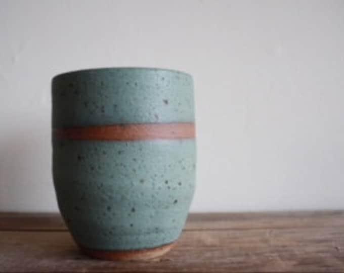 Custom Tumblers for Adrienne - KJ Pottery