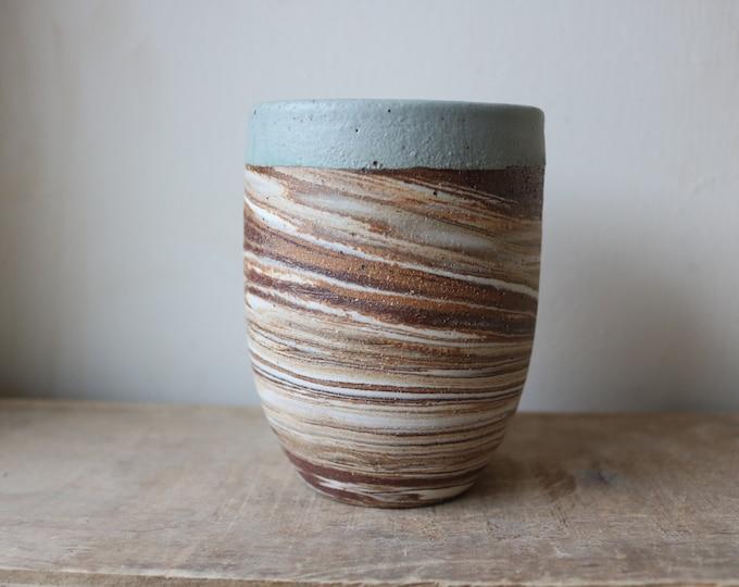 Tumbler - Handmade Mug - Ceramics & Pottery - KJ Pottery
