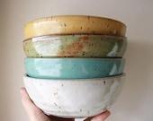 Bowl - Made to Order Bowls - Cereal Bowls - Salad Bowls - Ceramics & Pottery - Dinnerware - Handmade Bowls - KJ Pottery