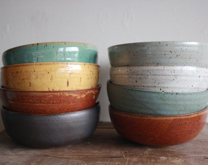 Wedding Registry - Will and Jasmine Young - Ramen Bowls - KJ Pottery