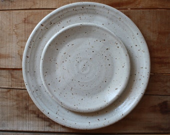 Dish Set - Dinnerware - Dinner Plate - Salad Plate - Dish Set - KJ Pottery