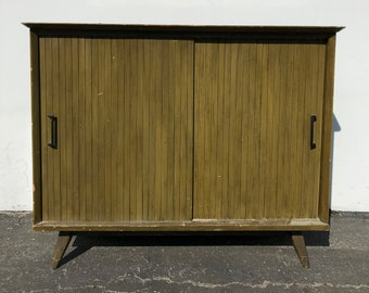 Mid Century Modern Cabinet Sideboard Danish Mcm Wood Tv Media Console Furniture Buffet Server Storage Eames Credenza Bar CUSTOM PAINT AVAIL
