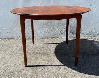 Mid Century Modern Dining Wood Table by John Stuart Danish Style Inspired Hollywood Regency Modern Vintage DIA Style Kitchen Furniture
