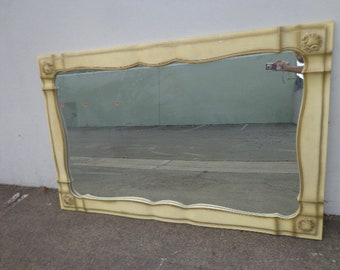 Antique Mirror Vintage Vanity French Provincial Rococo Baroque Makeup Boudoir Dressing Room Shabby Chic Bedroom Hollywood Regency Ornate
