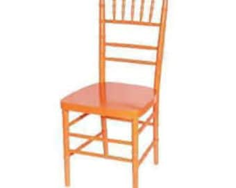PICK YOUR COLOR Dining Chairs Chinese Chippendale Bamboo Chic Mid Century Regency Seating Chinoiserie Wood Boho Chiavari Custom Paint Avail
