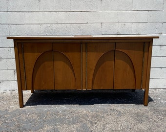 Mid Century Modern Wood Sideboard Drexel Composite Tv Media Console Furniture Cabinet Buffet Server Storage Credenza Bar CUSTOM PAINT AVAIL