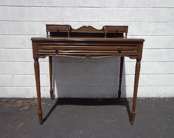 Antique Writing Desk Etsy