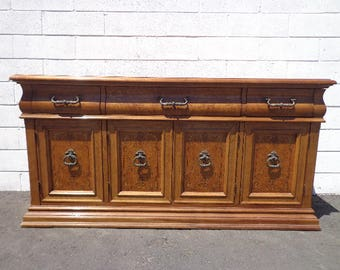 Buffet Console Sideboard Credenza Storage Hutch Regency Glam French Provincial Neoclassical Dining TV Cabinet CUSTOM PAINT Avail