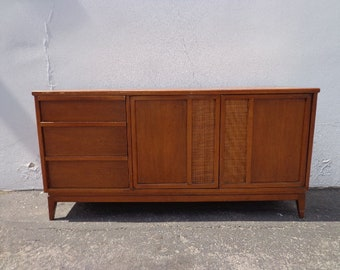 Mid Century Modern Sideboard Danish Mcm Wood Tv Media Console Furniture Cabinet Buffet Server Storage Eames Credenza Bar CUSTOM PAINT AVAIL
