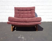 Mid Century Lounge Chair Armchair Modern MCM Craft Adrian Pearsall Accent Hollywood Regency Vintage Seating Tufted Retro Living Room Boho