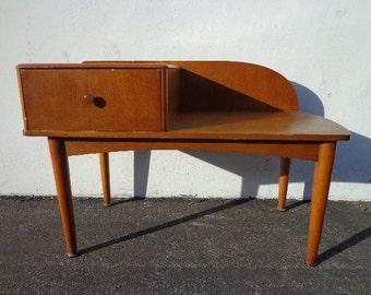 Mid Century Modern Chair Gossip Bench Armchair Entry Way Bench MCM Danish Eames Inspired Furniture Teak Chair Console Cabinet Storage Wood